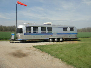 Renovated Airstream trailer,