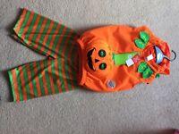 Boys pumpkin 6-9 months BNWT