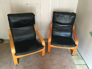 2 Ikea Poang Chairs