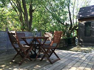 Outdoor Patio furniture, BBQ, table, chairs, lounge chairs