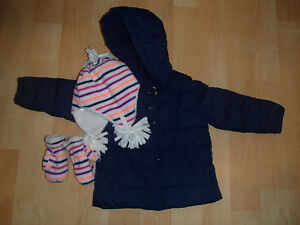 Winter Coat and Hat/Mittens - Baby GAP