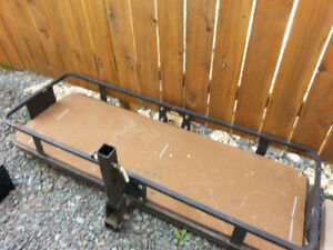 For Sale:  Hitch Rack for Motor Home