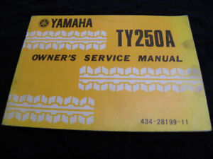TY250A Owner's Manual