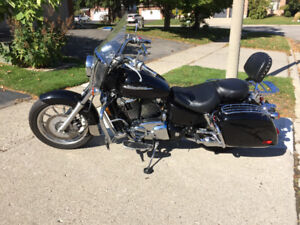 1998 Honda Shadow VT1100T American Touring Edition