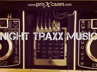 NIGHT TRAXX MUSIC AVAILABLE FOR BOOKINGS