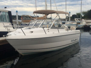 2007 Campion Explorer 542 rigged for fishing and family fun.