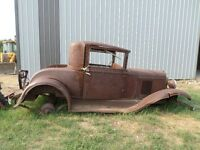 WANTED 1929 CHEVY COUPE PARTS