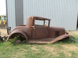 WANTED 1929-1932 CHEVY COUPE PARTS AND OTHER COUPE BODIES