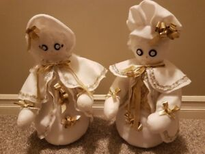 Christmas Figurines - Hand Crafted  & Unique