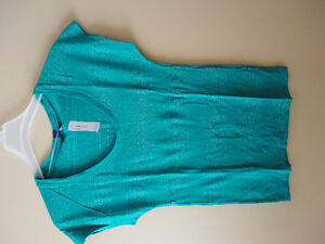Women Old Navy green silver glitter threading striped top XS NWT London Ontario image 1