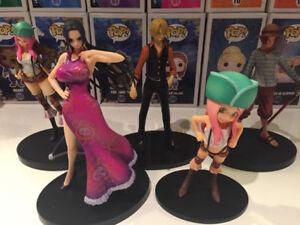 Figurines One Piece Lot de 5 (Anime, authentiques japon)