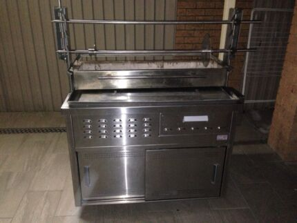 CHARCOAL KEBAB MACHINE LIKE NEW Wetherill Park Fairfield Area Preview