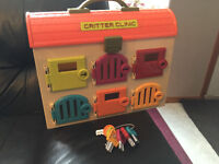 """""""CRITTER CLINIC"""" TOY"""