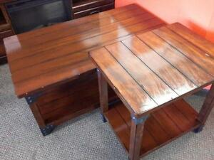 *** USED *** ASHLEY MURPHY COFFEE/END TABLES   S/N:51228209   #STORE223