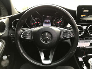 2015-2017 c300 c class steering wheel and airbag
