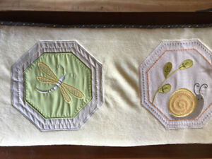 Nature 4 Piece Crib Bedding and bumpers set