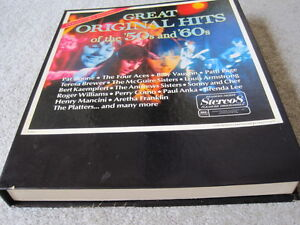 8 Track Collector's Edition Great Original Hits of 50s and 60s Windsor Region Ontario image 1