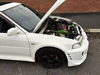 Mitsubishi Lancer Evo 5 360 bhp Lots of Mods 6 7 8 9 Ralliart GSR evolution launch control low miles