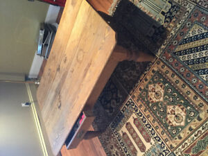 Antique. Coffee. Table