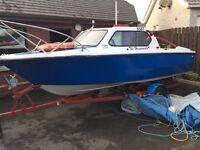 Shetland 535 hull and trailer