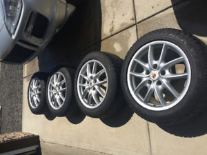 19-inch Porche Cayenne Winter Tires and Rims