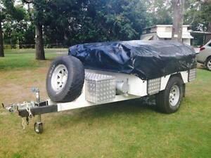 Custom on/off road camper trailer Closeburn Pine Rivers Area Preview
