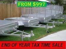 BOX TRAILER BRISBANE $997 FROM 6x4 7x4 7x5 8x5 10X5 10X6ft Coopers Plains Brisbane South West Preview