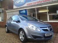 2008 58 Vauxhall Corsa 1.3CDTi 16v EcoFlex Active £30 a year road tax