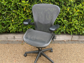 Herman miller Aeron Size B office chair fully loaded 3YEAR WARANTY