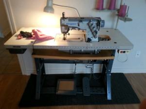 Machine a coudre industrielle coverstitch Kansai