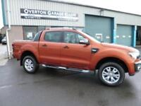 2016 Ford Ranger WILDTRAK 4X4 DCB 3.2 TDCI 200ps Diesel orange Manual