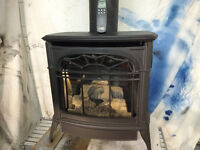 Vermont Castings Stardance Stove Natural Gas Fireplace