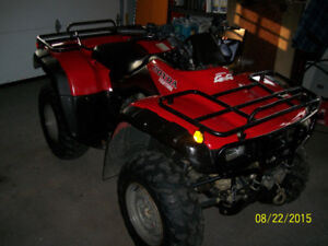 Parts 2002 Honda 350 Fourtrax 4X4 Parts Only
