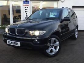 2005 55 BMW X5 3.0d AUTO SPORT ~ LOW MILES WITH FSH ~ 1 YEAR MOT