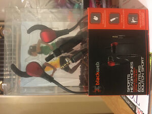 Blackweb sports headphones