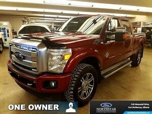 2013 Ford F-350 Super Duty Platinum   - one owner - trade-in - $