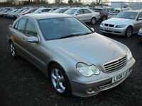 2006 06 MERCEDES-BENZ C CLASS 3.0 C320 CDI AVANTGARDE SE 4D AUTO 222 BHP DIESEL