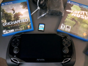 16 GB OLED PS VITA for sale w/games