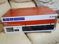 Chord HU6 6 Way UHF Wireless Microphone System