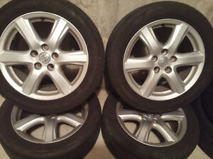 Toyota Camry mags and Tire 215-55-ZR17,Bolt pattern 5X114.3