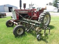 Cockshutt 1955 Tractor with Cultivator