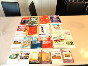 Selling 21 self Help Books - All for $20.00 or $3.00 per Book
