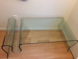 Glass coffee table $199