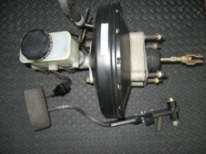 Brake Booster with Master Cylinder