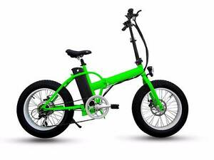 Eco Force 500W Fold Up Electric Fat Bike White Gum Valley Fremantle Area Preview