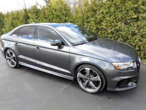 Audi RS3 2018, beaucoup d'options + AUDI CARE entretiens gratuit