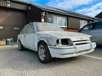 1989 Ford Escort RS 1600 Turbo white, Easy project, All parts + Extra parts come