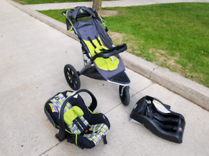 Evenflo victory jogger travel system