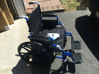 New in Box - Manual wheelchair - Foldable - Flip-back arms Feel
