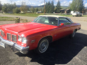 For sale 1974-Oldsmobile delta 88 royal 455 rocket